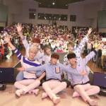 「取材レポ」6人組アイドルグループSNUPER 日本初ファンミでハロウィンコスプレを披露!