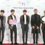 「速報PHOTO@ソウル」防弾少年団「2016 MelOn MUSIC AWARDS」レッドカーペットに登場!