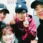 パク・ボゴム&キム・ユジョン&クァク・ドンヨン、B1A4ジニョンを応援