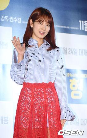 女優パク・シネ、大邱の火災被害者のために5千万ウォン(約490万円)寄付