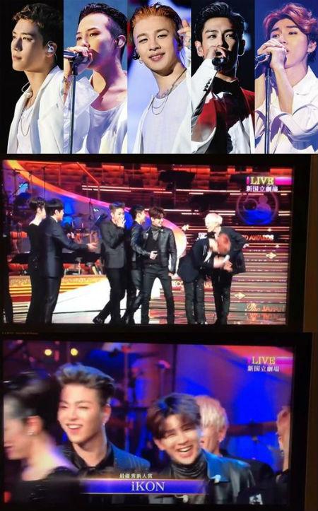 「iKON」、日韓中3カ国で新人賞総なめ…「BIGBANG」はレコ大で特別賞受賞