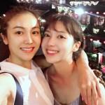 """女優チェ・ソジン&キム・オクビン、""""美人姉妹""""2ショットを公開"""