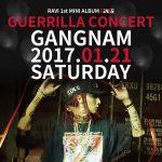 「VIXX」ラビ、21日にソウル・江南でゲリラコンサート開催を予告