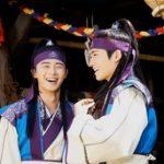 俳優パク・ソジュンとヒョンシク(ZE:A)、暑さの中でも輝くほほ笑み