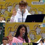B1A4バロ、AOAソルヒョン、Twiceツウィ、防弾少年団V、「アイドル陸上大会」の選手団代表で選手宣誓