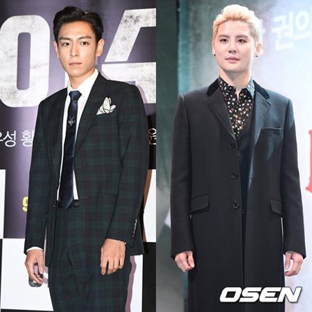 ジュンス(JYJ)&T.O.P(BIGBANG)、本日入隊…義務警察として21か月間の軍服務へ