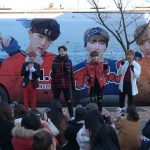 B.I.G、バレンタインデーにラッピングバスでサプライズファンミーティング開催