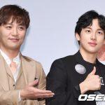 「PHOTO@ソウル」ZE:Aシワン&俳優チン・グ、 映画「ワンライン」の製作報告会に出席