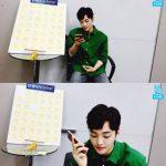 """俳優キム・ミンジェ、防弾少年団Vと電話で通話。""""カムバック準備で忙しい""""「V LIVE」"""