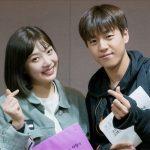 俳優イ・ヒョヌ&Red Velvetジョイ、新ドラマで共演…バレンタインデーにツーショットを公開