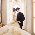 """結婚控える""""アイドル夫婦""""ムン・ヒジュン(元H.O.T.)−ソユル(CRAYON POP)、ウェディング写真を公開"""