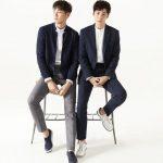 俳優チュウォン&キム・ヨングァン、紳士服ブランドのグラビア公開