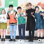 「PHOTO@ソウル」Highlightドゥジュン、歌手カンタら、バラエティ番組「コンビニ襲撃」の製作発表会に出席
