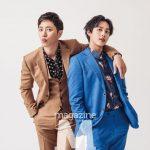 ZE:Aイム・シワン&俳優チン・グ、シャッター押すだけで完ぺきなブロマンス