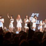 「AOA」、初の単独コンサートで涙の約束「いつも今のように」
