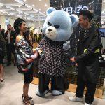 YGの代表キャラクターKRUNK(クランク)、香港のKENZOイベントに登場