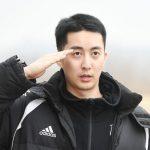 「Double S 301」キム・ヒョンジュン(マンネ)、軍入隊…「模範になって努力する姿を見せたい」