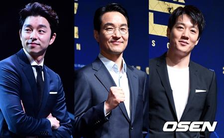 コン・ユ、ハン・ソッキュ、キム・レウォン、4月映画俳優ブランド評判のTOP3に