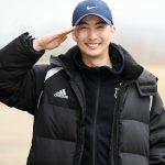 「PHOTO@ノンサン」Double S 301キム・ヒョンジュン(マンネ)、『本日入隊します!』