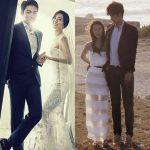 局アナ出身タレントのオ・サンジン、女優ユン・ジンソがそれぞれきょう挙式