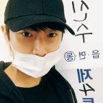 """B1A4ジニョン、投票の認証ショット公開…""""雨が降るので傘を忘れないで"""""""