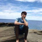 ZE:Aパク・ヒョンシク、海をバックに爽やかな写真を公開!