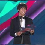 <百想>俳優ユン・シユン、発表ミスのハプニング