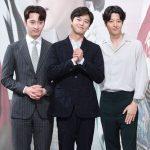 「PHOTO@ソウル」俳優イ・ドンゴン、2PMチャンソンら、ドラマ「7日の王妃」の製作発表会に出席