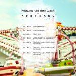 PENTAGON、3rdミニアルバムのカムバックスケジュール公開…単独コンサートと同日に予告映像&MV公開