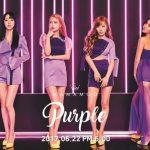 """「MAMAMOO」、ニューアルバム名は「Purple」! """"神秘的で華やかな魅力"""""""