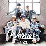 100%、日本2ndシングル『Warrior』がタワーレコードチャートで3位