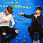 「取材レポ」MYNAMEセヨン、大国男児カラム登壇!ホリはものまねで2人を応援!「いつだって最高の友達」制作発表記者会見