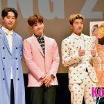 「速報」2PM リアル体験バラエティ番組「2PM WILD BEAT」Blu-ray&DVDリリース記念!ウヨン、ジュノ、チャンソンが記者会見に登壇!