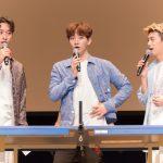"""「取材レポ」2PMウヨン、ジュノ、チャンソン""""メンバーの素顔は運動音痴に権力者!?""""「2PM WILD BEATファンミーティング」開催!"""