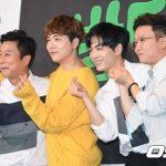 「PHOTO@ソウル」FTISLANDホンギ&NU'EST JRら、JTBCの新しいバラエティ番組の制作発表会に出席