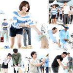 女優ハ・ジウォン&カン・ミンヒョク(CNBLUE)、ドラマ「病院船」撮影の無事と成功を祈願