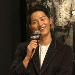 俳優ソン・ジュンギ、結婚発表してから初の公の場に「緊張する」