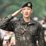 「PHOTO@カンウォン」SUPER JUNIORウニョク、2年余りの軍服務を終えて今日(12日)除隊