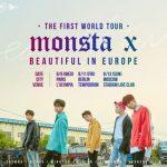 「MONSTA X」、デビュー初の欧州ツアー開催!