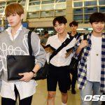 「PHOTO@インチョン」Wanna One 、「K-CON 2017 LA」出席のためアメリカLAに出発
