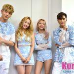 """「個別インタビュー」""""K-POPのダークホース""""KARD、男女混成グループの魅力とは?「いろんな組み合わせでできるし、家族のような雰囲気で楽しいです」"""