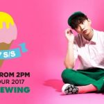 """JUNHO (From 2PM) Solo Tour 2017 """"2017 S/S"""" ライブ・ビューイング実施決定!"""