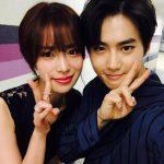 EXOスホ&イム・ジヨン、同期の友情ショットを公開!