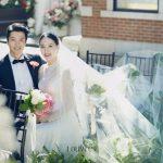 俳優イ・ドンゴン&チョ・ユニ、結婚式の写真公開… 美しいふたり