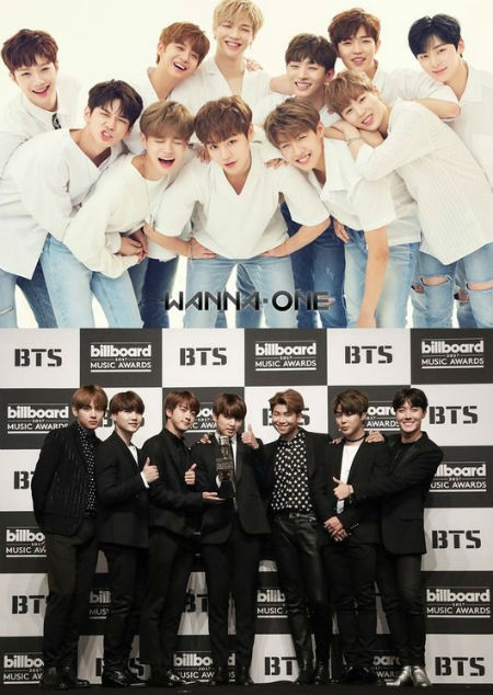 「Wanna One」、9月ボーイズグループブランド評判1位…2位「防弾少年団」