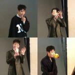 "Block BのP.O、新ドラマ「愛の温度」撮影現場の写真が公開""サプライズイベントでファンに会いに行く"""