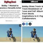 iKON BOBBYの「LOVE AND FALL」、米メディアのビルボードにローリング・ストーンも惚れ込んだ