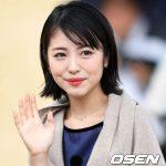「PHOTO@釜山」女優 浜辺美波、 映画「あなたの膵臓を食べたい」の舞台挨拶に出席