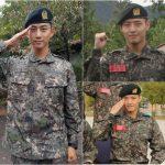 2PMテギョン&俳優カン・ハヌル、凛々しい軍生活を公開
