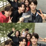 EXOベクヒョン、Wanna Oneカン・ダニエルら、バラエティ番組「マスターキー」の団体写真公開…この組み合わせ最高だ